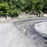 Curva strada tetto Boschi